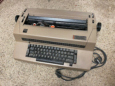 Vintage Ibm Selectric Iii 3 Electric Typewriter