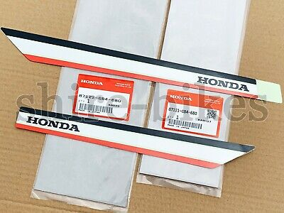 NEW GENUINE Honda Frame Stickers Decals (Pair) suitable for use with Cub C90 12V
