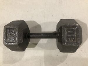 Hex Iron Dumbbell - 30lb