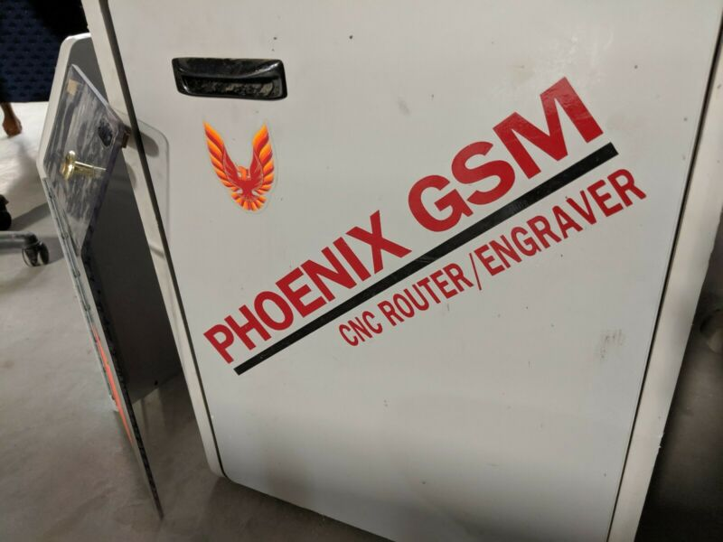 Phoenix GSM CNC Router / Engrave Control System - Working - Centroid
