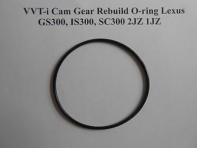 VVT-i Cam Gear Rebuild Viton O-ring Lexus GS300, IS300, SC300 2JZ 1JZ VVTI