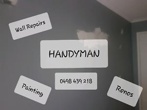 Handyman - Plaster Repairs, Painting, Doors, Renos, Etc Marsden Logan Area Preview