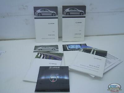 LEXUS IS350 OEM Owners Manual 2008