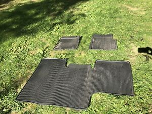 OEM Ford All weather thermoplastic rubber mats.