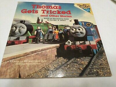 Thomas The Train Children's Book Thomas Gets Tricked and Other Stories