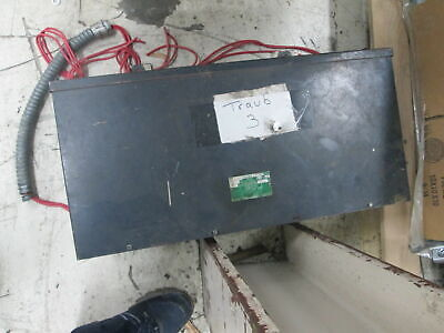 Westinghouse Electric Corp Type EPT 15 KVA 480V 3Ph 60 Cycle