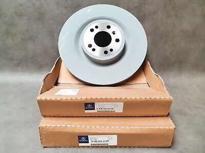 Original Mercedes-Benz W166 GLS GLE Bremsscheiben Satz vorne A1664211400