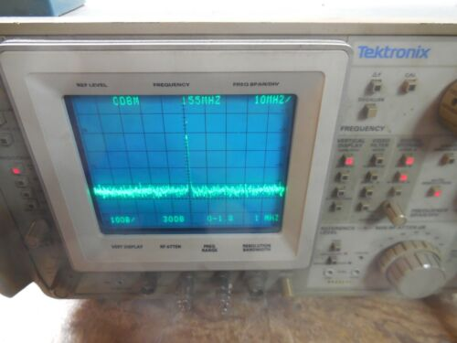 Tektronix 492 Tek Spectrum Analyzer Opt 1,2  *Works*