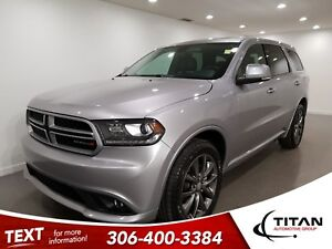 2017 Dodge Durango GT|V6|AWD|CAM|Leather|Htd Seats