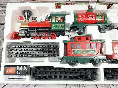 EZTEC G-Gauge North Pole Express Remote Control Animated Christmas Train Set Box
