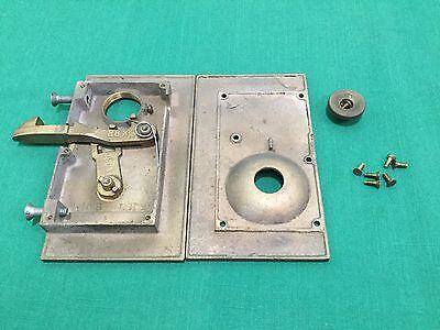 Vintage Wire Iron Products Sliding Gate Lock - Locksmith