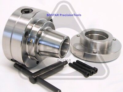 Bostar 5c Collet Lathe Chuck With Semi-finished Adp. 1-34 X 8 Thread.