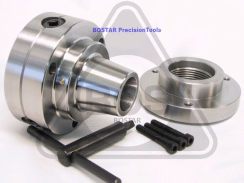 "BOSTAR  5C Collet Lathe Chuck With Semi-finished Adp. 1-3/4"" x 8  Thread."