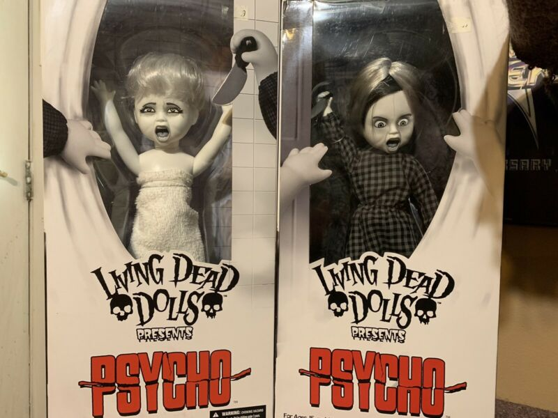 Living Dead Dolls Psycho Set
