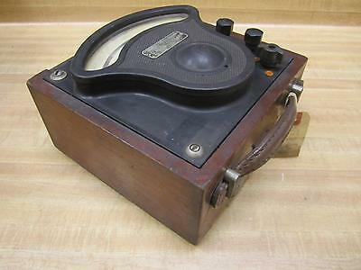 General Electric 522094 Vintage Industrial Amp Meter Wo Lid Antique