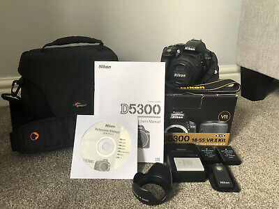 Nikon D5300 DSLR in Excellent Condition 1484 Actuations w/ 18-55mm Lens + Extras