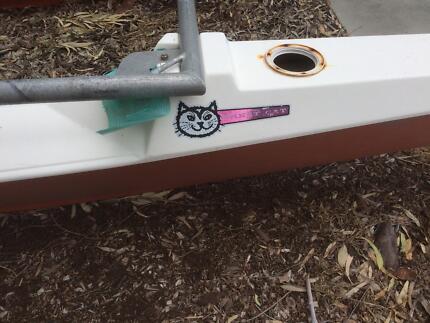 Crest cat catamaran