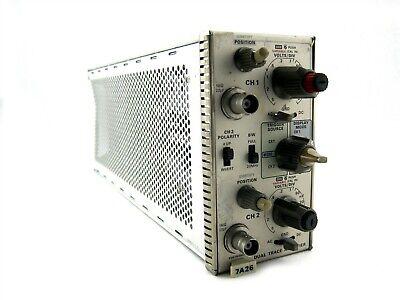 Tektronix 7a26 Dual Trace Amplifier Plug-in Module 2-channel 426-0737-00 B198387