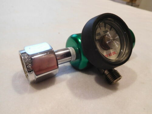 Flotec Oxygen Regulator MRI Compatible RN510-600 3000PSI New