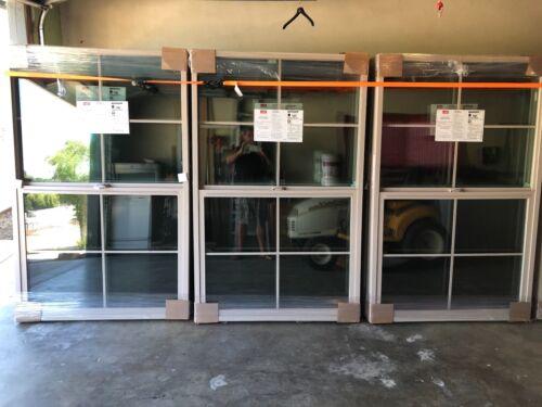 Milgard Factory Tan Colonial Windows Brand New
