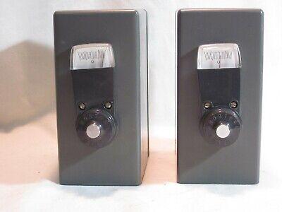 2 Vintage Leeds Northrup 2340-c Ohms Ohm Tester Meter Calibration Please