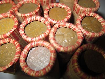 - Sealed Wheat Penny Shotgun Roll! Wheat Cent Lot 1909-1958 50 Coins PDS Steel Mix