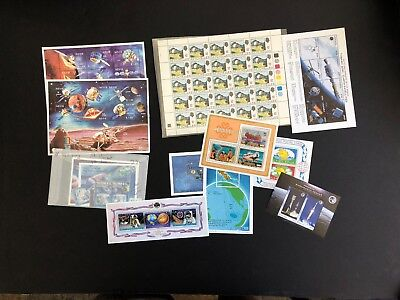 British Comm And Other Countries Mnh Stamp Sheets   Space    2