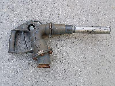 Vintage Antique Gas Pump Dispenser Diesel Fuel Brass Barnes 1 12 Mill-n-4180