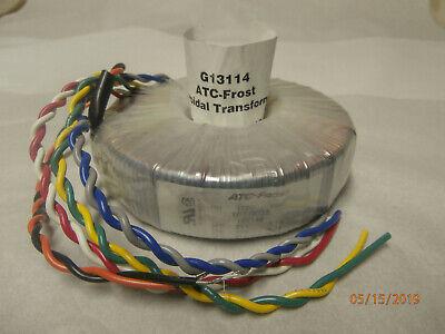 Atc-frost Toroid Power Transformer Fpt148 120 Volt 60 Hz