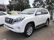 2014 TOYOTA LANDCRUISER  PRADO  KAKADU ONE OWNER LONG REGO Granville Parramatta Area Preview
