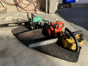 3 running Chainsaw's for $150