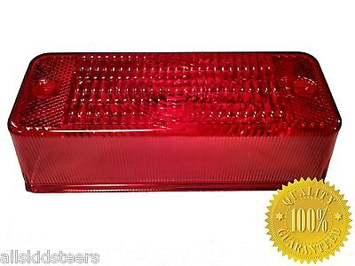Bobcat 751 Skid Steer Red Tail Light Lens Loader Skid Steer Back Rear Light