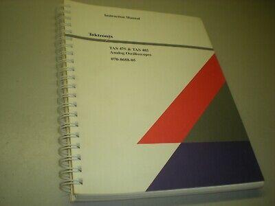 Tektronix 070-8688-05 Instruction Manual For Tas 475 485 Analog Oscilloscopes