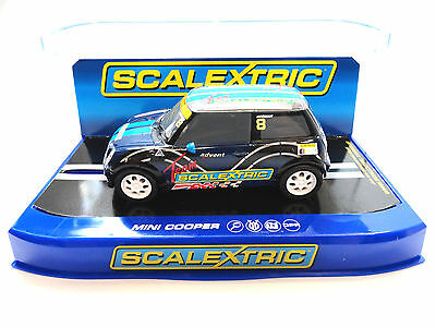 "Scalextric ""Team Scalextric"" Mini Cooper UK Club Car 1/32 Scale Slot Car C3428"