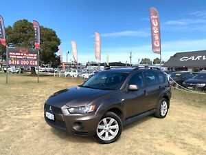 2012 MITSUBISHI OUTLANDER LS (FWD) ZH MY12 AUTOMATIC 36 MONTHS FREE WARRANTY Kenwick Gosnells Area Preview