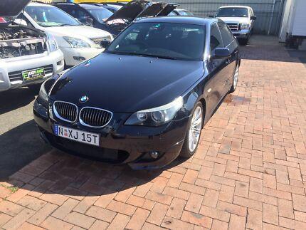BMW 545i sedan full house