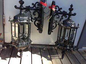 Medieval Gothic outdoor coach lights lanterns Frankston South Frankston Area Preview