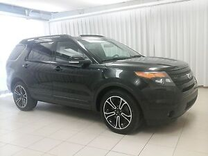 2015 Ford Explorer SPORT 4x4 6PASSENGER SUV, FRESH TRADE, ONE OW