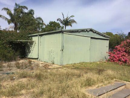 Shed 6.6mtrs X 6.1mtrs $2500