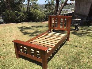 Single slat end bed pine Warriewood Pittwater Area Preview
