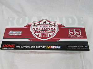 Michael Waltrip 2013 Alabama Crimson Tide 1:24 Action National Champions DieCast