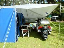"""CLASSIC"" fiberglass motorbike camping trailer. Chandler Brisbane South East Preview"