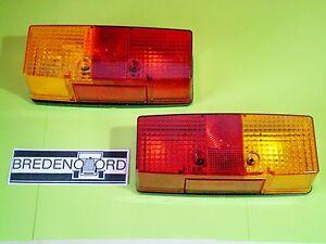 2x Hella Rücklicht  Bremslicht Blinklicht   Links + Rechts   Anhänger Wohnwagen