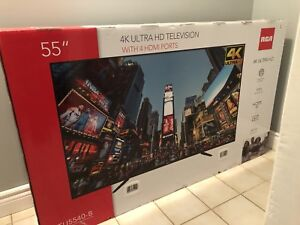 "55"" 4K TV BRAND NEW IN BOX"