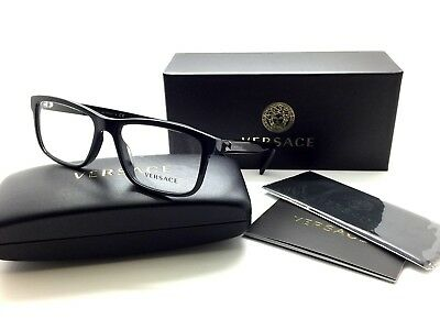 Versace Unisex Eyeglasses VE MOD 3253A 5230 Dark Blue Frame Demo Lenses