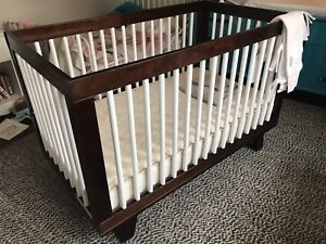 Babyletto Hudson 3 in 1 crib and organic double sided mattress