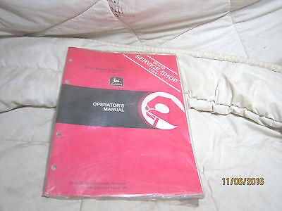 Omga11394 John Deere Owner Operator Manual 125 Skid Steer Loader Dealer Copy