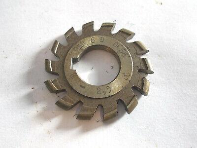 Halbkreisfräser , Halbkreisformfräser , Radiusfräser konvex  R2,5 x 57 mm , HSS