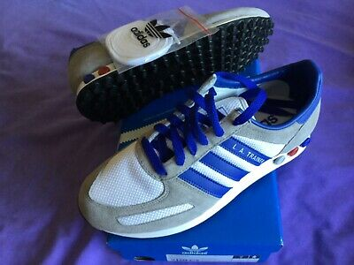 Vintage adidas LA Trainer - BNIB - UK6 - white/grey/blue