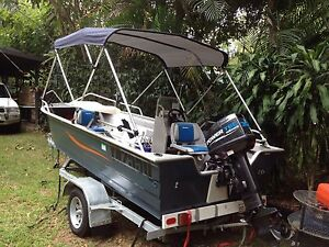 2016 Fishing boat 15' Side console New Nov 2016 Boreen Point Noosa Area Preview